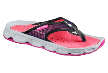chaussures de recuperation femme salomon rx break rose violet 40