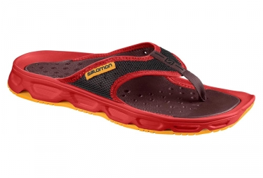 Chaussures de recuperation salomon rx break rouge 46