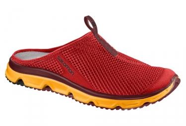 Chaussures de recuperation salomon rx slide 3 0 rouge 46
