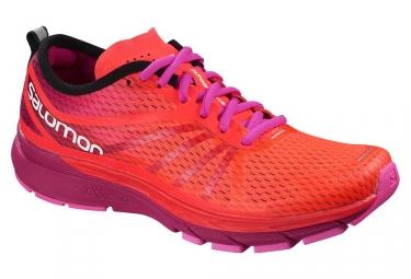 Chaussures de running femme salomon sonic ra pro rose violet 40