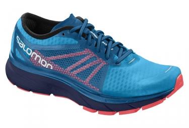 Chaussures de running salomon sonic ra bleu rose 46