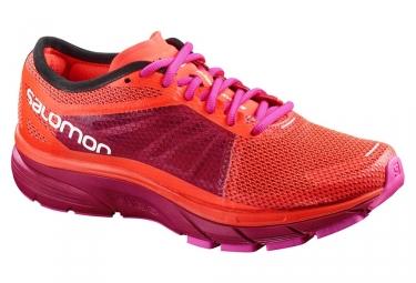Chaussures de running femme salomon sonic ra rose violet 38