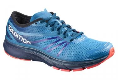 Chaussures de running salomon sonic ra pro bleu 44