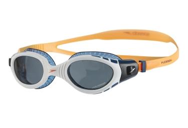 lunettes de triathlon speedo futura biofuse orange bleu