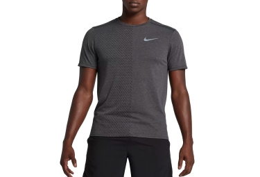 Maillot manches courtes nike tailwind gris l