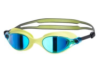 lunettes de natation speedo vue mirror jaune bleu noir
