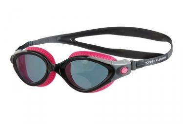 lunettes de triathlon speedo futura biofuse noir rose