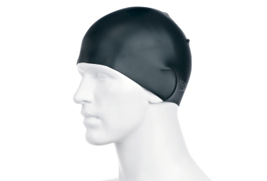 Speedo Moulded Silicon Cap Black