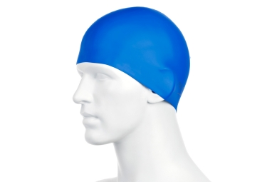 Speedo Molded Silicon Cap Blue