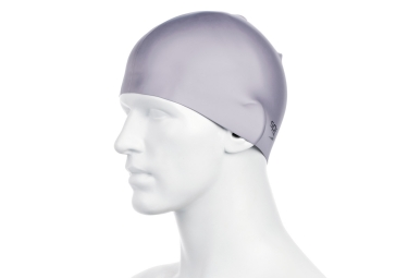Speedo Moulded Silicon Cap Grey