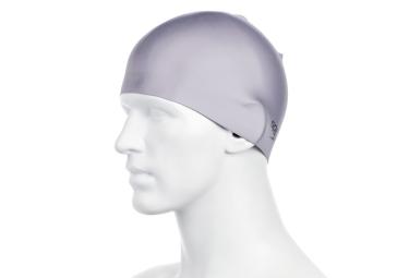 bonnet de bain speedo silicone gris