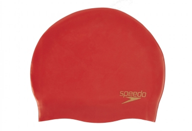 Speedo Moulded Silicon Cap Red
