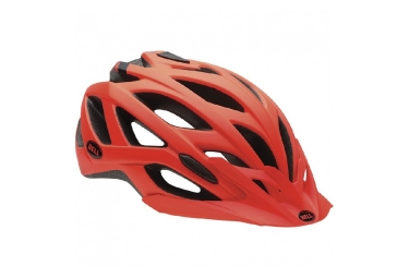 casque vtt bell sequence orange mat s 51 55 cm