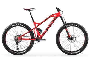 vtt tout suspendu mondraker crafty xr 27 5 rouge 2017 m 167 178 cm