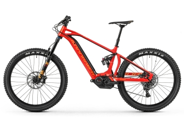 MTB Eléctrica Doble Suspensión Mondraker E-Crafty XR+ 27.5'' Plus Rouge 2018