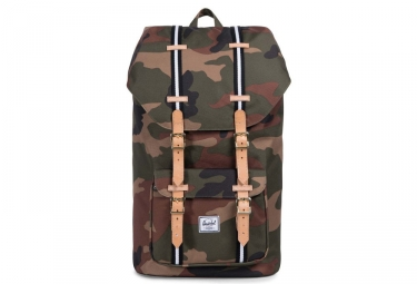 HERSCHEL Little America 25L Woodland Camo/Black/White