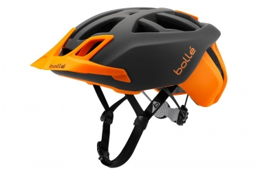 casque vtt bolle the one mtb gris orange 54 58 cm