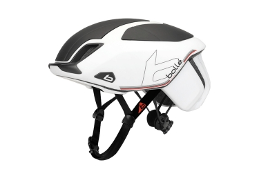 Casque route bolle the one premium blanc noir 58 62 cm