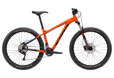 vtt semi rigide kona big kahuna 27 5 orange 2018 s 155 170 cm