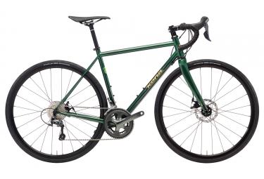 Gravel Bike Kona WheelHouse Shimano Tiagra 10V 2018 Vert