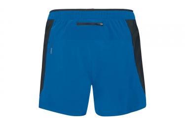 Short 2-en-1 Odlo Zeroweight Ceramicool Bleu Noir