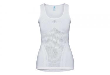 Camiseta Sin Mangas Para Mujer Odlo Breathe Blanco L