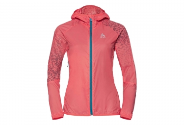 Odlo Wisp Women Windbreaker Jacket Orange