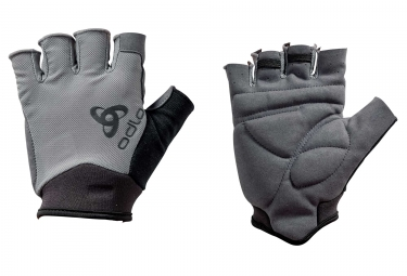 gants courts odlo active gris xl