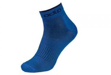 Paire de chaussettes basses odlo natural ceramiwool outdoor bleu 39 41