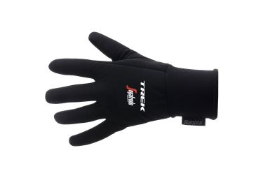 paire de gants long trek by santini team trek segafredo noir m