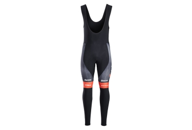 Trek by Santini Bib Tights Team Trek-Segafredo Black Red