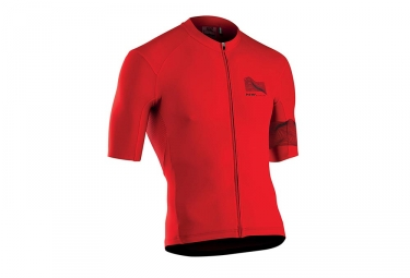 Maillot manches courtes northwave extreme 3 rouge l