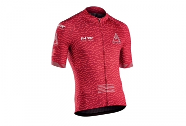 Northwave Rough Short Sleeves Jersey Red