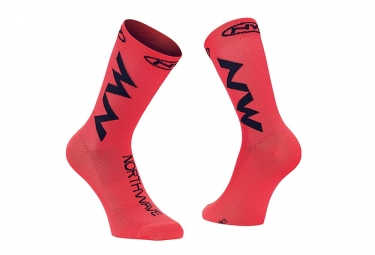 Paire de chaussettes northwave extreme air orange 40 43