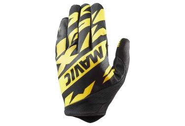 Paire de gants mavic 2018 deemax pro jaune noir xl
