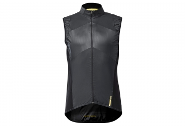 gilet coupe vent mavic 2018 cosmic wind sl noir grey m