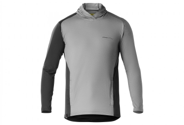 Sweat a capuche mavic 2018 xa elite gris xl