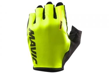 Mavic paire de gants cosmic jaune fluo noir xl