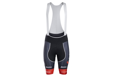 cuissard court trek by santini team trek segafredo noir rouge l