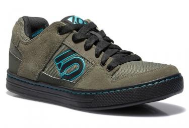 Paire de chaussures de vtt fiveten 2017 freerider khaki noir bleu 44