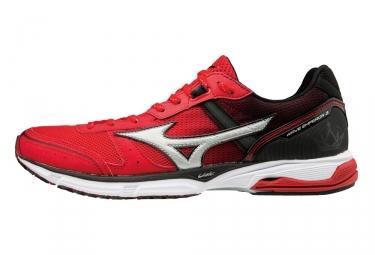 chaussures de running mizuno wave emperor 3 rouge noir 41