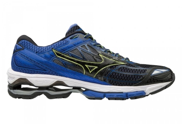 chaussures de running mizuno wave creation 19 noir bleu 46