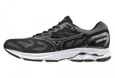 Chaussures de running mizuno wave rider 21 noir argent 41