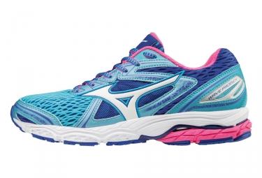 Chaussures de running femme mizuno wave prodigy bleu rose 38