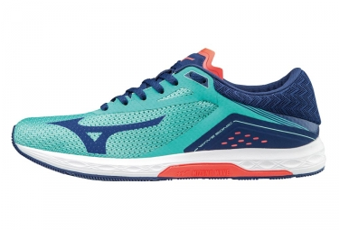 Chaussures de running femme mizuno wave sonic bleu rose 36 1 2