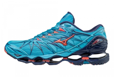 on sale f030a 91357 Mizuno Wave Prophecy 7 Blue Coral Women