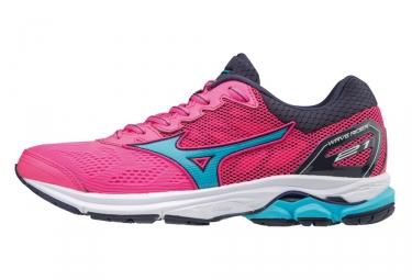 Zapatillas Mizuno Wave Rider 21 para Mujer Rosa / Azul