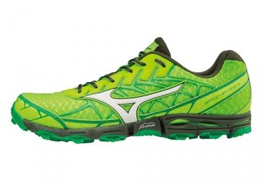 Chaussures de trail mizuno wave hayate 4 vert 42
