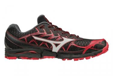 Chaussures de trail mizuno wave hayate 4 noir rouge 41