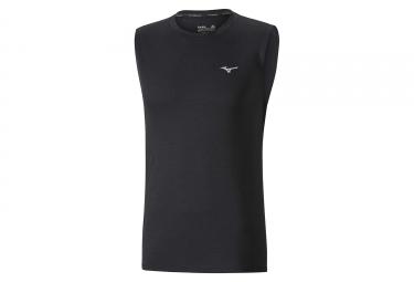 Camiseta sin mangas Mizuno Impulse Core Negro